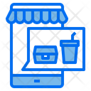 Mobile Food Restaurant Icon