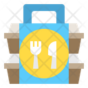 Package Delivery Food Icon
