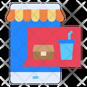 Mobile Food Restaurant Icon