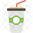 Disposable Glass Juice Icon