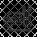 Linear Icon Salad Icon
