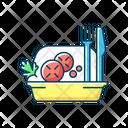 Color Icon Salad Icon