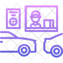 Car Order Terminal Icon