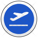 Takeoff sign Icon