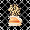Burger Paper Box Icon