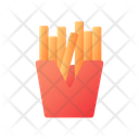 Takeout French Fries Icon