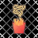 Fries Take Out Take Away Icon