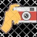 Taking Photos Photoshoot Camera Clicks Icon