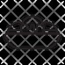 Takoyaki Fast Food Octopus Icon