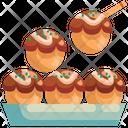 Takoyaki Street Snack Icon