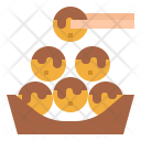 Takoyaki Food Octopus Icon