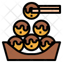 Takoyaki Food Octopus Icon
