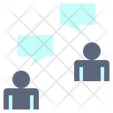 Talk Chat Work Icon