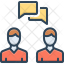 Talk Chat Dialogue Icon