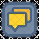 Talk Chat Communication Icon