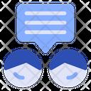 Talk Conversation Speech Bubble Icon