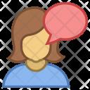 Talk Chat Chatting Icon