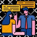 Talk Talking Conversation Icon