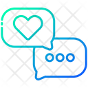 Love Chat Talk Chat Icon