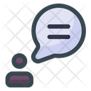 Talk Business Bubble Chat Talk Icon