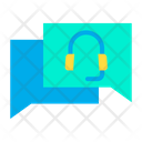 Talk Chat Call Icon