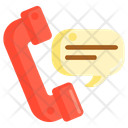 Talk On Phone Icon