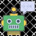 Robotic Chat Smart Talk Robot Talk Robot Icon