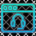 Talk Web Webpage Icon