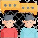 Talking Communication Speaking Icon