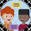 Friendship Friend Communicate Icon