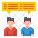 Talking Conversation Discussion Icon