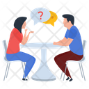 Discussion Gossips Consultation Icon