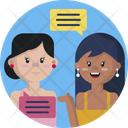 Friendship Friend Communicate Icon