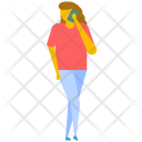 Talking On The Phone Icon