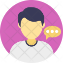 Talk Speech Consultant Icon