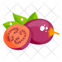 Tamarillo Fruit Healthy Food Icon