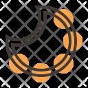 Tambourine Music Sound Icon
