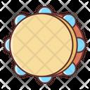 Tambourine Music Instrument Musical Instrument Icon
