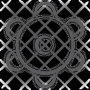 Music Dafli Music Instrument Tambourine Icon