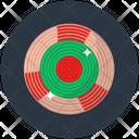 Tambourine Music Dafli Music Instrument Icon