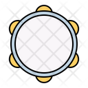 Tambourine Instrument Music Icon