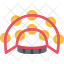 Tambourine Sound Rhythm Icon