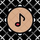 Tambourine Musical Studio Icon