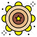 Tambourine Musical Instrument Jingle Icon