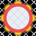 Tambourine Idiophones Percussion Icon