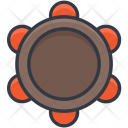 Tambourine Percussion Music Icon
