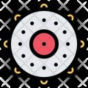 Tambourine Culture Civilization Icon