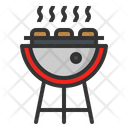 Grill Meat Cooking Icon
