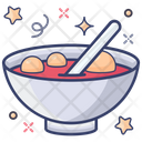 Tang Yuan Chinese Dish Chinese Cuisine Icon
