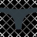 Tanga Bikini Underear Icon